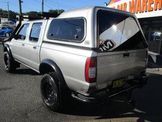 1999 Nissan Navara D22 DX (4x4) Silver 5 Speed Manual 4x4 Dual Cab Pick-up.