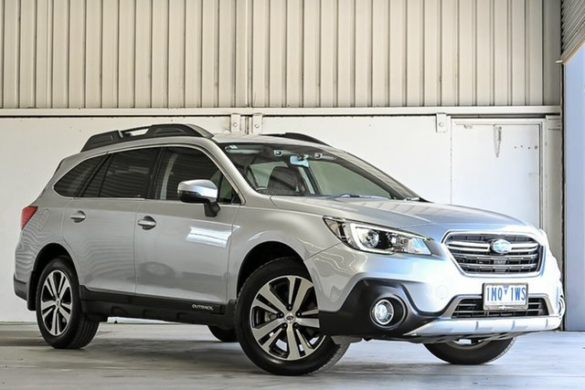 Used Subaru Outback B6A MY18 2.5i CVT AWD Laverton North, 2018 Subaru Outback B6A MY18 2.5i CVT AWD Silver 7 Speed Constant Variable Wagon