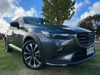 2018 Mazda CX-3 DK2W7A Akari SKYACTIV-Drive Grey 6 Speed Sports Automatic Wagon.