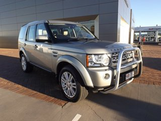 2013 Land Rover Discovery 4 Series 4 L319 MY13 TDV6 Ipanema Sand 8 Speed Sports Automatic Wagon.