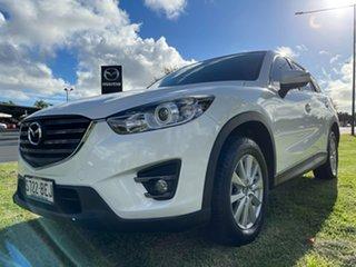 2014 Mazda CX-5 KE1032 Maxx SKYACTIV-Drive AWD Sport Crystal White Pearl 6 Speed Sports Automatic.