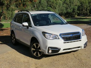 2018 Subaru Forester S4 MY18 2.5i-L CVT AWD White 6 Speed Constant Variable Wagon