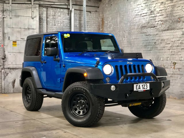 Used Jeep Wrangler JK MY2013 Sport Mile End South, 2013 Jeep Wrangler JK MY2013 Sport Blue 6 Speed Manual Softtop