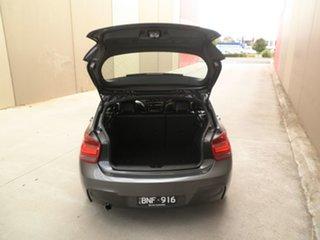 2012 BMW 1 Series F20 118i Pearl Grey 8 Speed Sports Automatic Hatchback