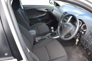 2008 Toyota Corolla ZRE152R Ascent Billet Silver 6 Speed Manual Sedan
