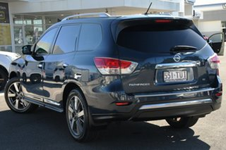 2014 Nissan Pathfinder R52 MY14 Ti X-tronic 2WD Blue 1 Speed Constant Variable Wagon