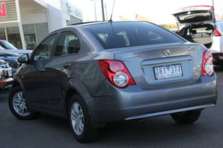 2012 Holden Barina TM Grey 5 Speed Manual Sedan.