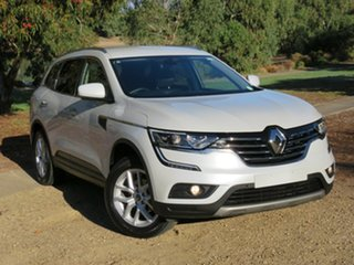 2016 Renault Koleos HZG Zen X-tronic White 1 Speed Constant Variable Wagon.