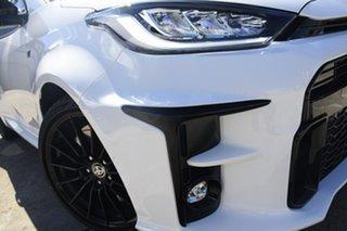 2020 Toyota Yaris GR Gxpa16R GR Glacier White 6 Speed Manual Hatchback.