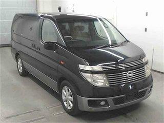 2004 Nissan Elgrand NE51 VG Black Automatic Wagon.