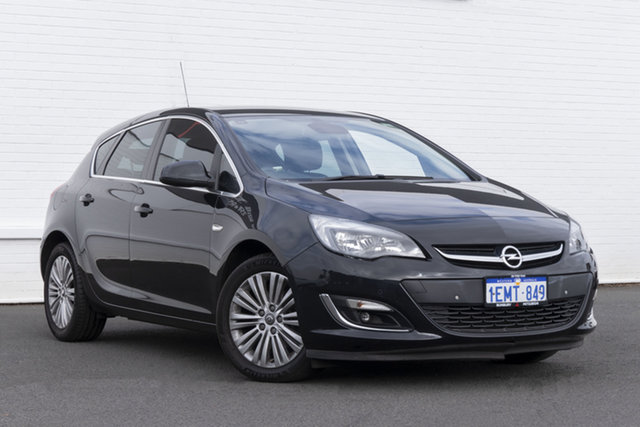 Used Opel Astra AS Select Bunbury, 2013 Opel Astra AS Select Black 6 Speed Sports Automatic Hatchback