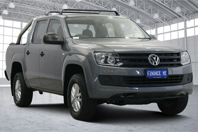 Used Volkswagen Amarok 2H MY16 TDI420 4MOTION Perm Core Victoria Park, 2016 Volkswagen Amarok 2H MY16 TDI420 4MOTION Perm Core Grey 8 Speed Automatic Utility