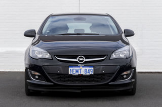 2013 Opel Astra AS Select Black 6 Speed Sports Automatic Hatchback.