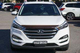 2017 Hyundai Tucson TLe MY17 Elite AWD White 6 Speed Sports Automatic Wagon.