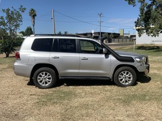 2016 Toyota Landcruiser VDJ200R VX Silver Pearl 6 Speed Sports Automatic Wagon
