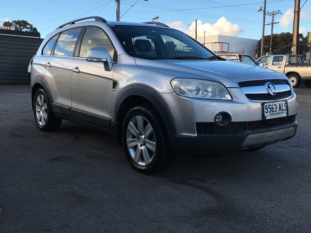 Used Holden Captiva CG LX AWD Blair Athol, 2007 Holden Captiva CG LX AWD Silver 5 Speed Sports Automatic Wagon
