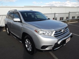 2011 Toyota Kluger GSU45R MY11 KX-R AWD Silver 5 Speed Sports Automatic Wagon.