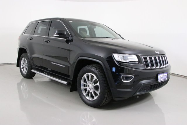 Used Jeep Grand Cherokee WK MY14 Laredo (4x4) Bentley, 2014 Jeep Grand Cherokee WK MY14 Laredo (4x4) Black 8 Speed Automatic Wagon