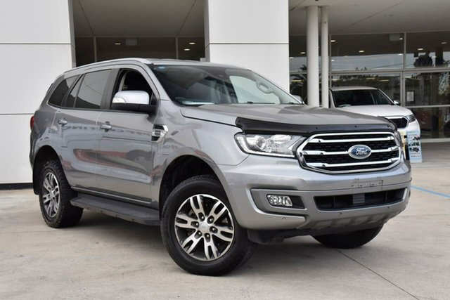 Used Ford Everest UA II 2019.00MY Trend Oakleigh, 2018 Ford Everest UA II 2019.00MY Trend Silver 10 Speed Sports Automatic SUV