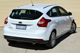 2011 Ford Focus LW Sport PwrShift White 6 Speed Sports Automatic Dual Clutch Hatchback