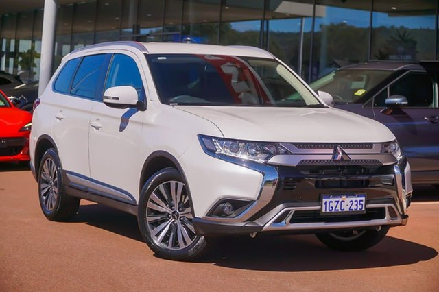 Used Mitsubishi Outlander ZL MY19 LS 2WD Gosnells, 2019 Mitsubishi Outlander ZL MY19 LS 2WD White 6 Speed Constant Variable Wagon