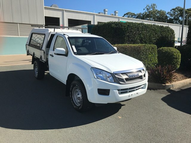 Used Isuzu D-MAX MY15.5 SX 4x2 High Ride Acacia Ridge, 2016 Isuzu D-MAX MY15.5 SX 4x2 High Ride Splash 5 speed Automatic Cab Chassis