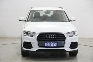 2016 Audi Q3 8U MY16 TFSI S Tronic White 6 Speed Sports Automatic Dual Clutch Wagon.