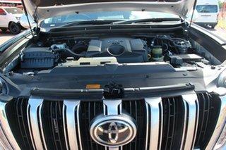 2017 Toyota Landcruiser Prado GDJ150R Kakadu Silver Pearl 6 Speed Automatic Wagon