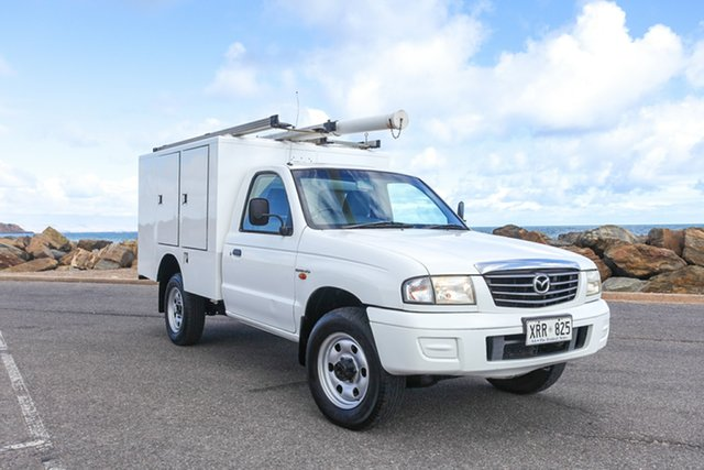 Used Mazda Bravo B2500 DX Lonsdale, 2003 Mazda Bravo B2500 DX White 5 Speed Manual Cab Chassis
