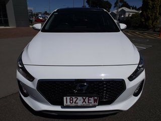 2017 Hyundai i30 GD3 Series II MY17 Premium DCT White 7 Speed Sports Automatic Dual Clutch Hatchback.