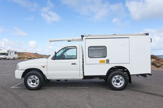 2003 Mazda Bravo B2500 DX White 5 Speed Manual Cab Chassis