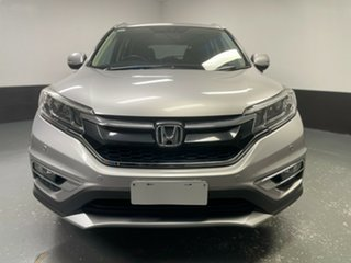 2015 Honda CR-V RM Series II MY16 VTi-S 4WD Silver 5 Speed Sports Automatic Wagon