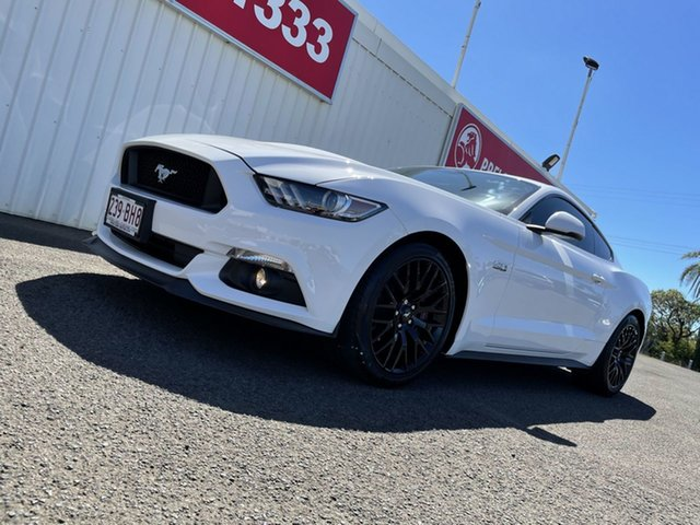 Used Ford Mustang FM GT Fastback SelectShift Bundaberg, 2015 Ford Mustang FM GT Fastback SelectShift White 6 Speed Sports Automatic Fastback