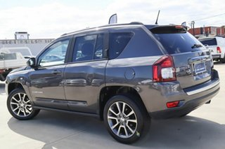 2014 Jeep Compass MK MY15 Limited CVT Auto Stick Grey 6 Speed Constant Variable Wagon