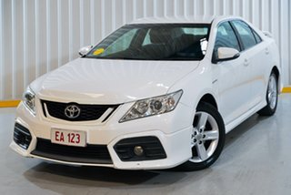 2013 Toyota Aurion GSV50R Sportivo SX6 White 6 Speed Sports Automatic Sedan.