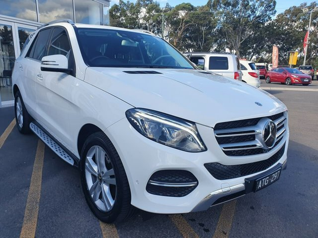 Used Mercedes-Benz GLE-Class W166 807MY GLE250 d 9G-Tronic 4MATIC Epsom, 2017 Mercedes-Benz GLE-Class W166 807MY GLE250 d 9G-Tronic 4MATIC White 9 Speed Sports Automatic