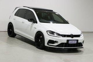 2017 Volkswagen Golf AU MY18 R White 7 Speed Auto Direct Shift Hatchback