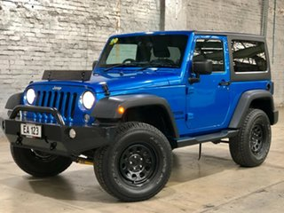 2013 Jeep Wrangler JK MY2013 Sport Blue 6 Speed Manual Softtop.