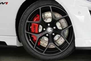 2017 Holden Special Vehicles GTS Gen-F2 MY17 R W1 White 6 Speed Manual Sedan.