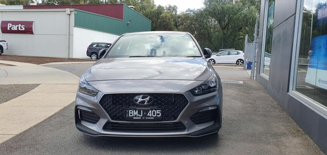 Demo Hyundai i30 PD.V4 MY21 N Line D-CT Epsom, 2020 Hyundai i30 PD.V4 MY21 N Line D-CT Fluidic Metal 7 Speed Sports Automatic Dual Clutch Hatchback