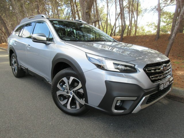 Demo Subaru Outback B7A MY21 AWD Touring CVT Reynella, 2021 Subaru Outback B7A MY21 AWD Touring CVT Ice Silver 8 Speed Constant Variable Wagon