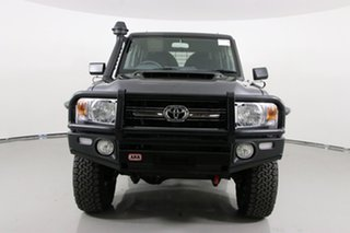 2019 Toyota Landcruiser VDJ79R GXL (4x4) Graphite 5 Speed Manual Double Cab Chassis.