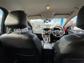 2013 Ford Focus LW MkII Titanium PwrShift Black 6 Speed Sports Automatic Dual Clutch Hatchback