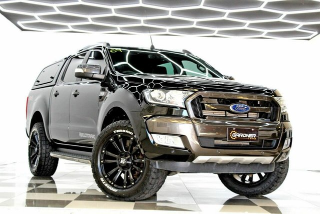 Used Ford Ranger PX MkII MY18 Wildtrak 3.2 (4x4) (5 Yr) Burleigh Heads, 2018 Ford Ranger PX MkII MY18 Wildtrak 3.2 (4x4) (5 Yr) Black 6 Speed Automatic Dual Cab Pick-up