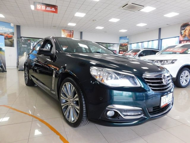 Pre-Owned Holden Calais VF MY14 Wonthaggi, 2014 Holden Calais VF MY14 Green 6 Speed Sports Automatic Sedan
