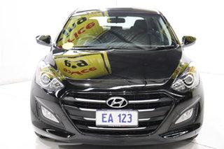 2015 Hyundai i30 GD4 Series II MY16 Active Black/Grey 6 Speed Sports Automatic Hatchback.