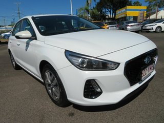 2018 Hyundai i30 PD MY18 Active White 6 Speed Sports Automatic Hatchback.