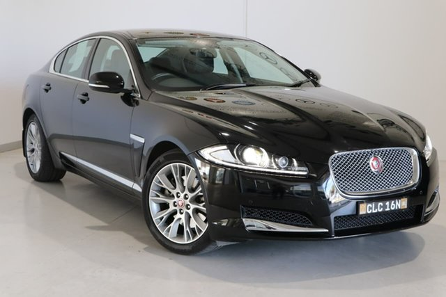 Used Jaguar XF X250 MY12 Luxury Wagga Wagga, 2012 Jaguar XF X250 MY12 Luxury Black 8 Speed Sports Automatic Sedan