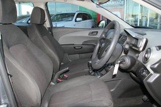 2012 Holden Barina TM Grey 5 Speed Manual Sedan