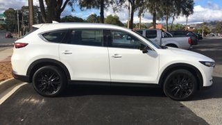 2021 Mazda CX-8 KG2WLA Touring SKYACTIV-Drive FWD SP White Pearl 6 Speed Sports Automatic Wagon